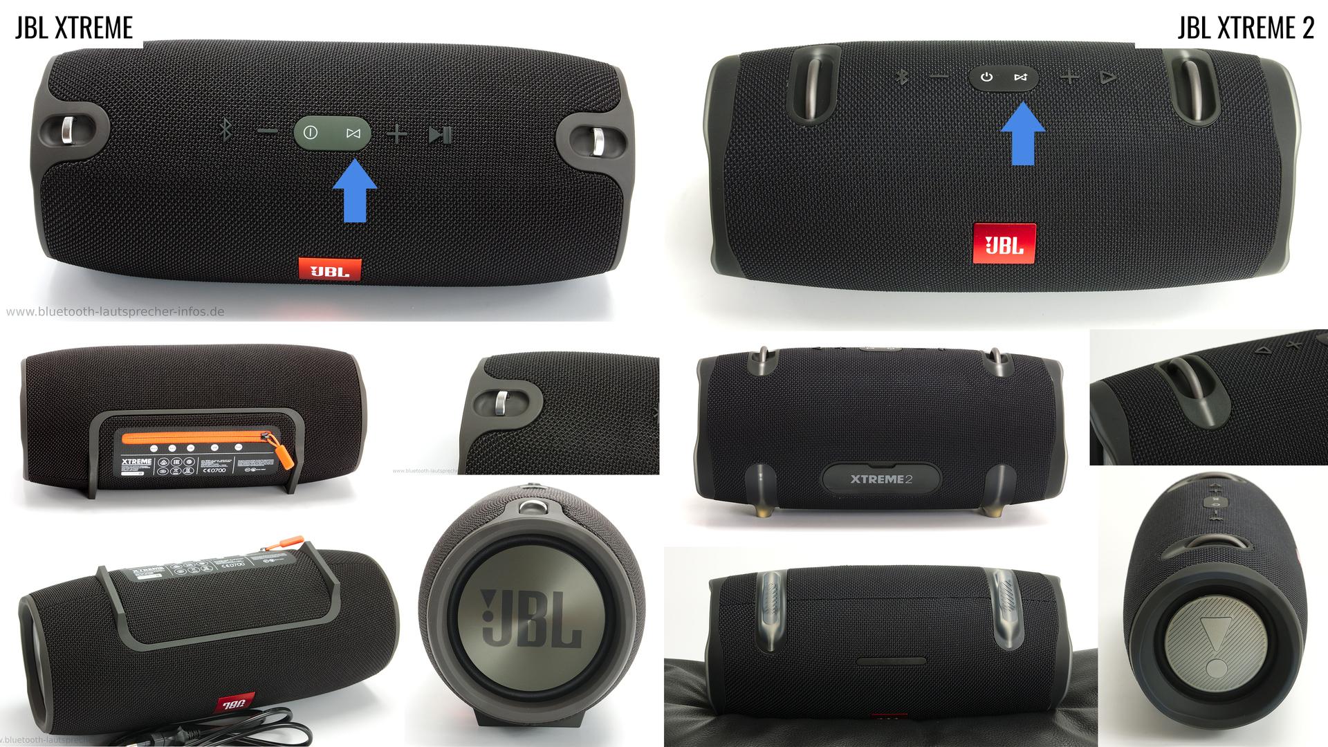 Der JBL XTREME und der XTREME 2 im Vergleich   Bluetooth