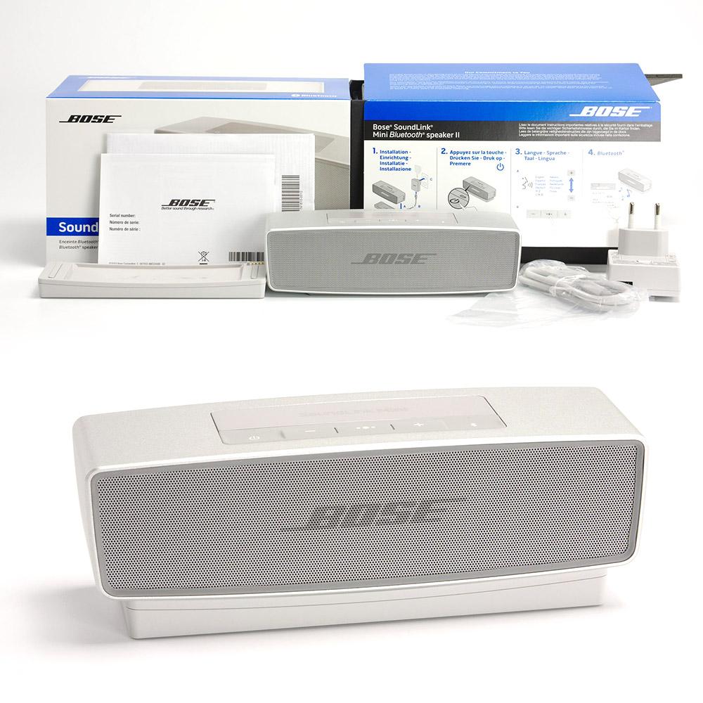 Bose Soundlink Mini Ii Test Sehr Kleiner Lautsprecher Mit Bluetooth Speaker Krftigem Bass Und Gutem Klang