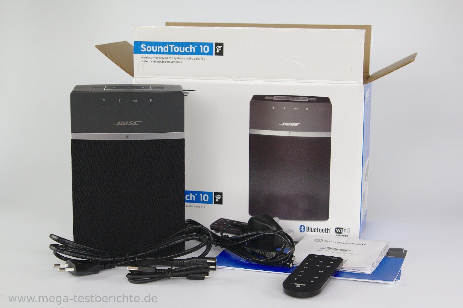 Bose soundtouch 10 im test bluetooth lautsprecher - Bluetooth lautsprecher wohnzimmer ...