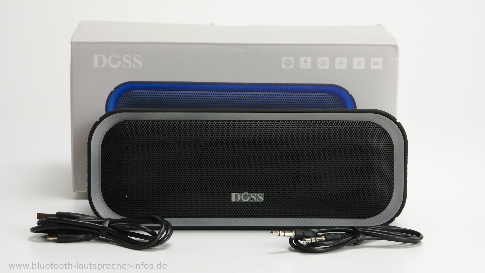 doss soundbox pro im test bluetooth lautsprecher mit sd. Black Bedroom Furniture Sets. Home Design Ideas