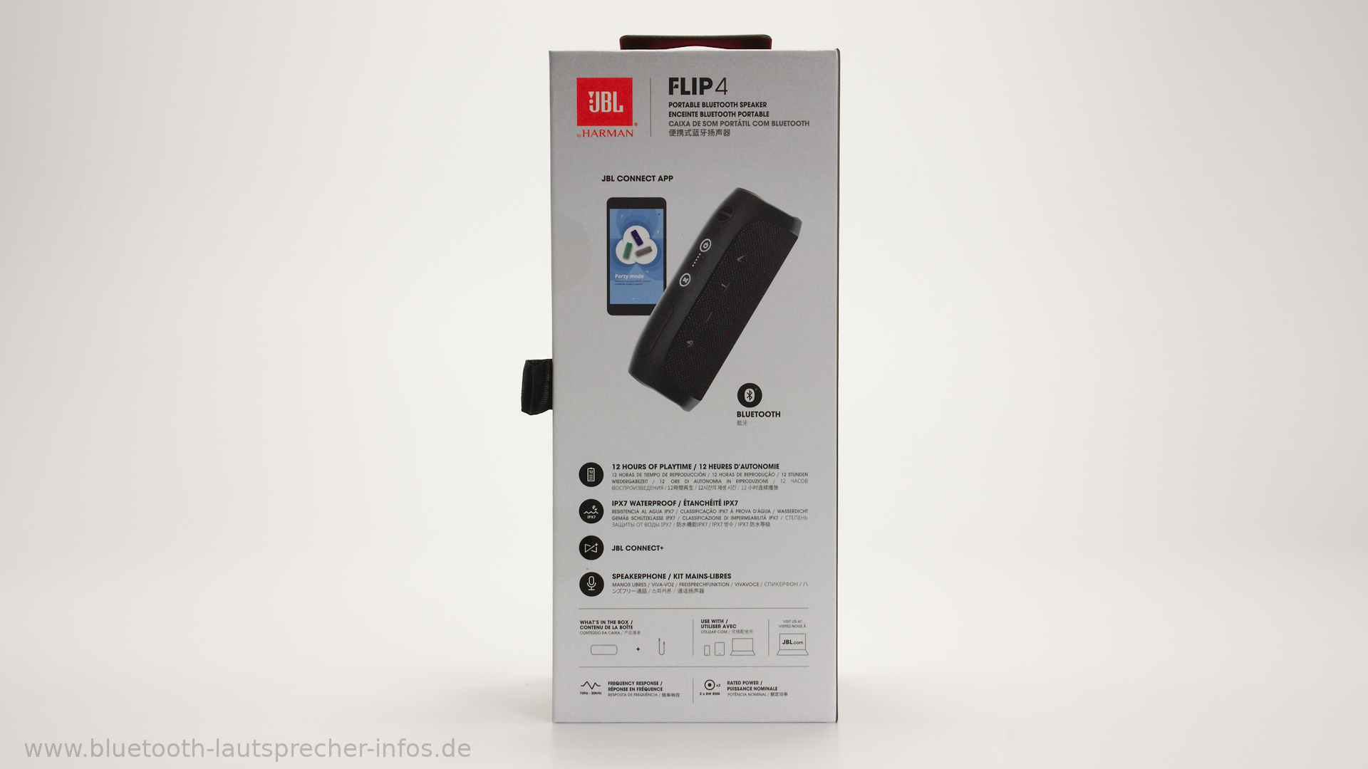 JBL Flip 4 - Kompakter Bluetooth-Lautsprecher im Test