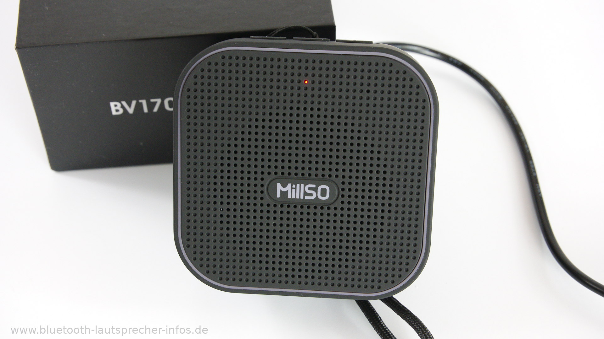 millso bv170 im test sehr preiswerter mini bluetooth. Black Bedroom Furniture Sets. Home Design Ideas